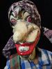 traditional wayang golek puppet Petruk from the Mahabharata. Handmade in Java, Indonesia
