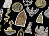 Brass Deity Pendants and Statuettes