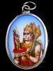 Hanuman enamel deity pendant