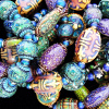 assorted color changing mirage bead stretch bracelets