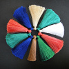 Simple rayon tassels, available in packs of 10