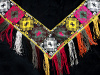 front and central view of Traditional Saye Gosha textile