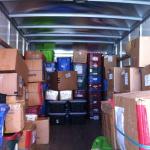 boxes of Tika merchandise