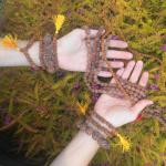 rudraksha seed mala and bracelets
