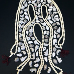 ghost image mala and critter beads