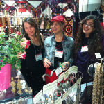 Tika girls in the booth at the LA gift show 2012
