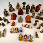 Tika merchandise featuring Buddha imagery