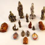 Tika merchandise featuring Quan yin imagery