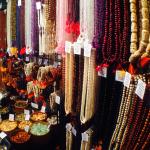 Tika's mala display in Tucson