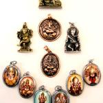 Tika merchandise featuring Ganesh imagery