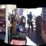 panoramic view of Tika's Tucson Showroom (inside and out)