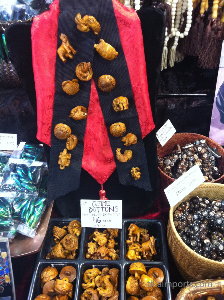 Tika merchandise on display at Bead & Button