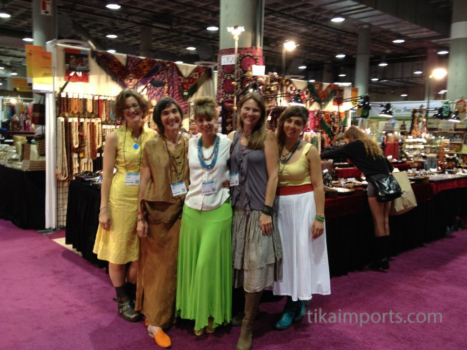 Tika girls posing for a picture
