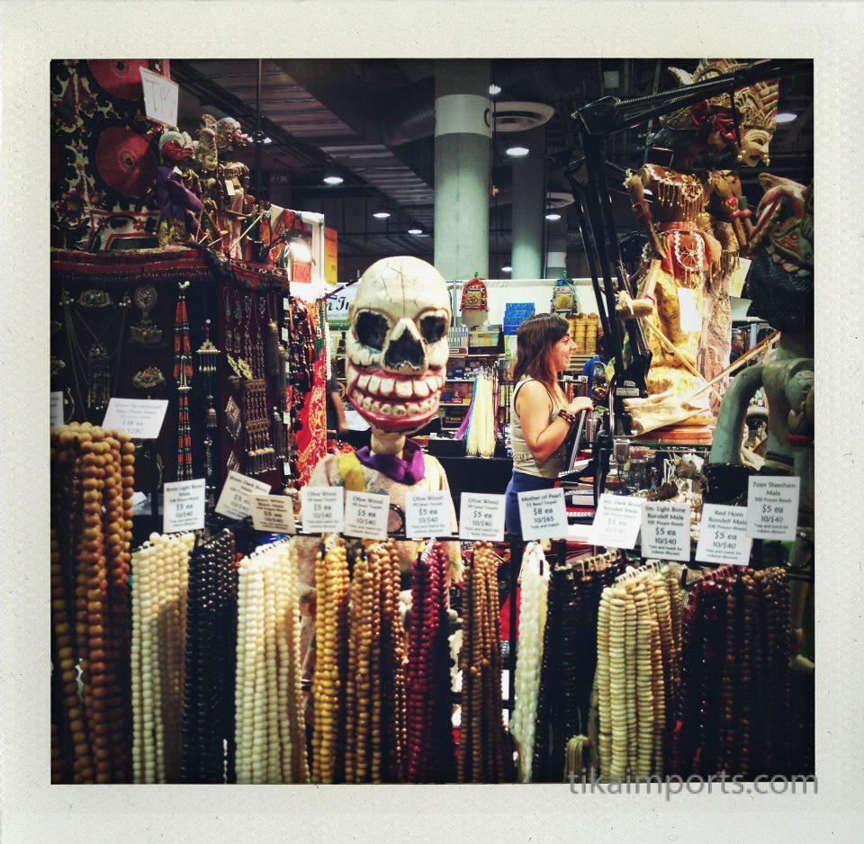 Tika's display in La