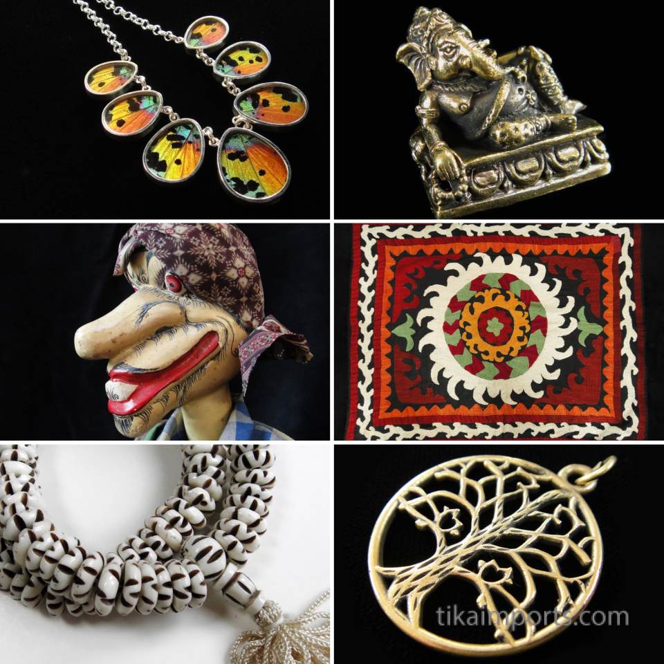a selection of new items, recently added