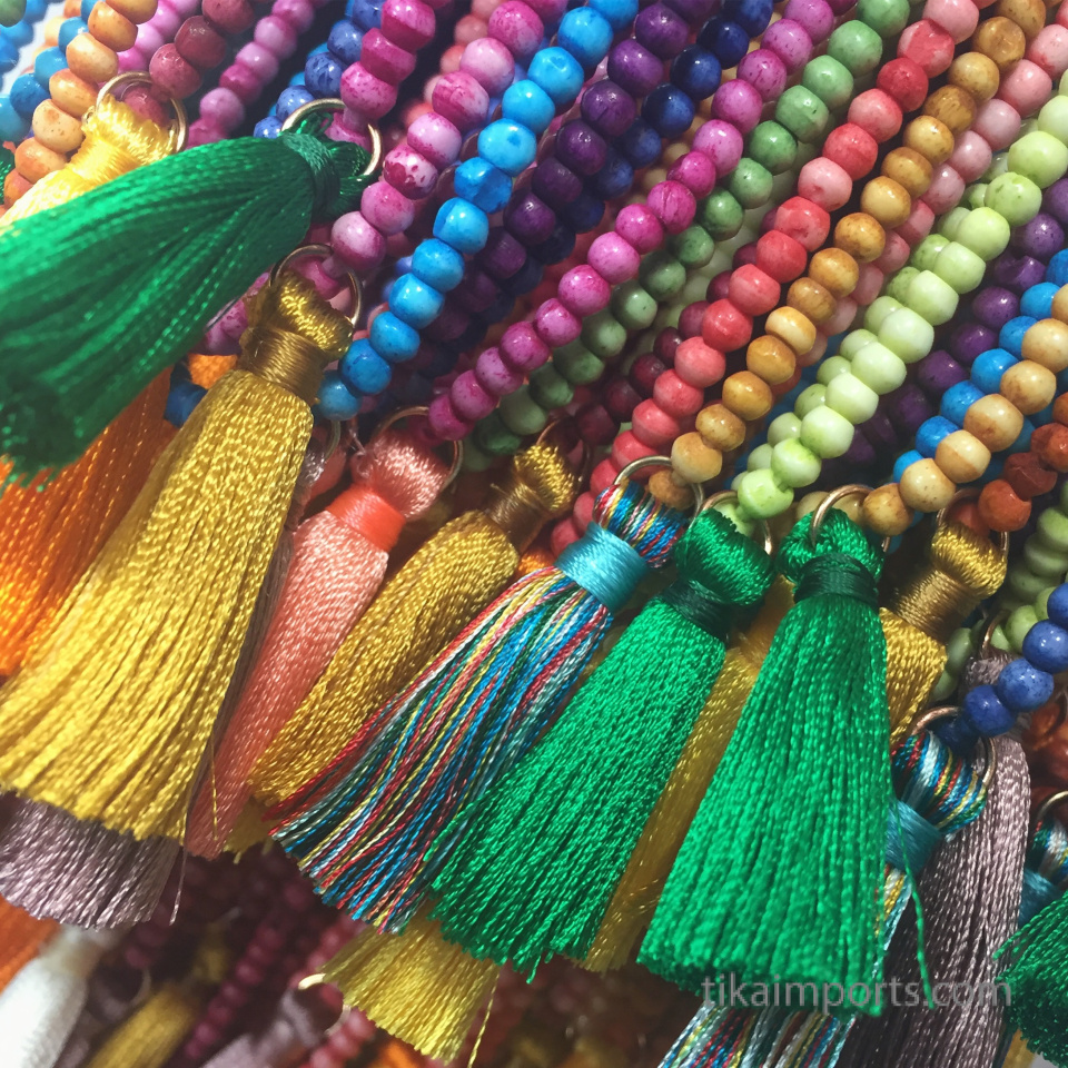 colorful new jewelry items