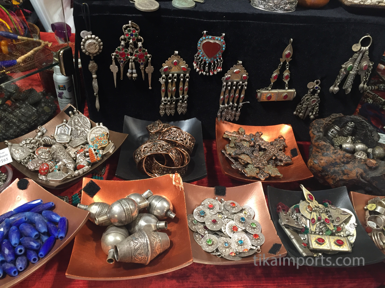 a collection of Tika treasures