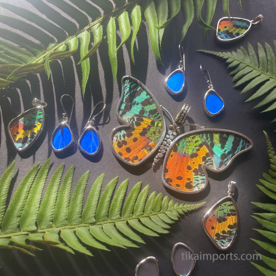 assorted shimmerwing jewelry
