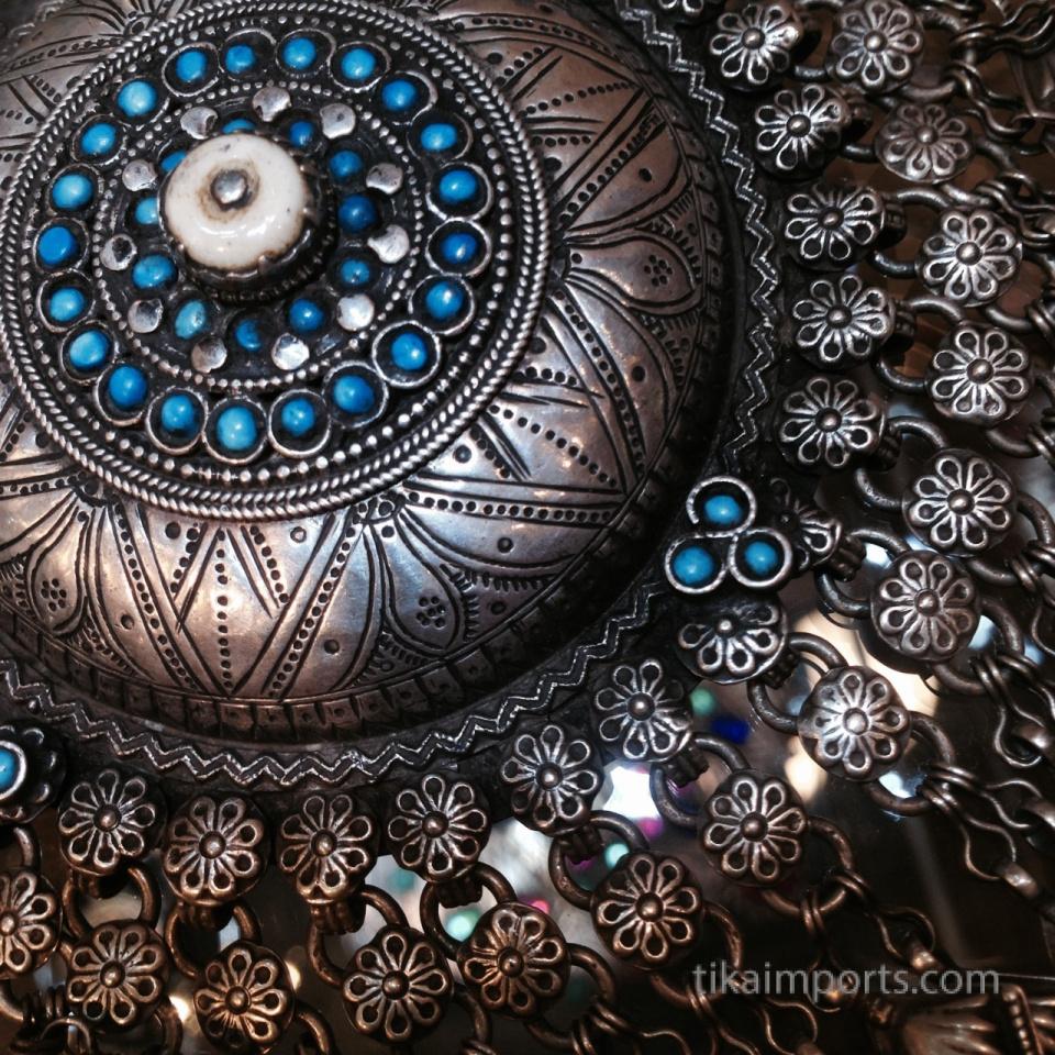 Tika's Antique Jewelry display in Tucson