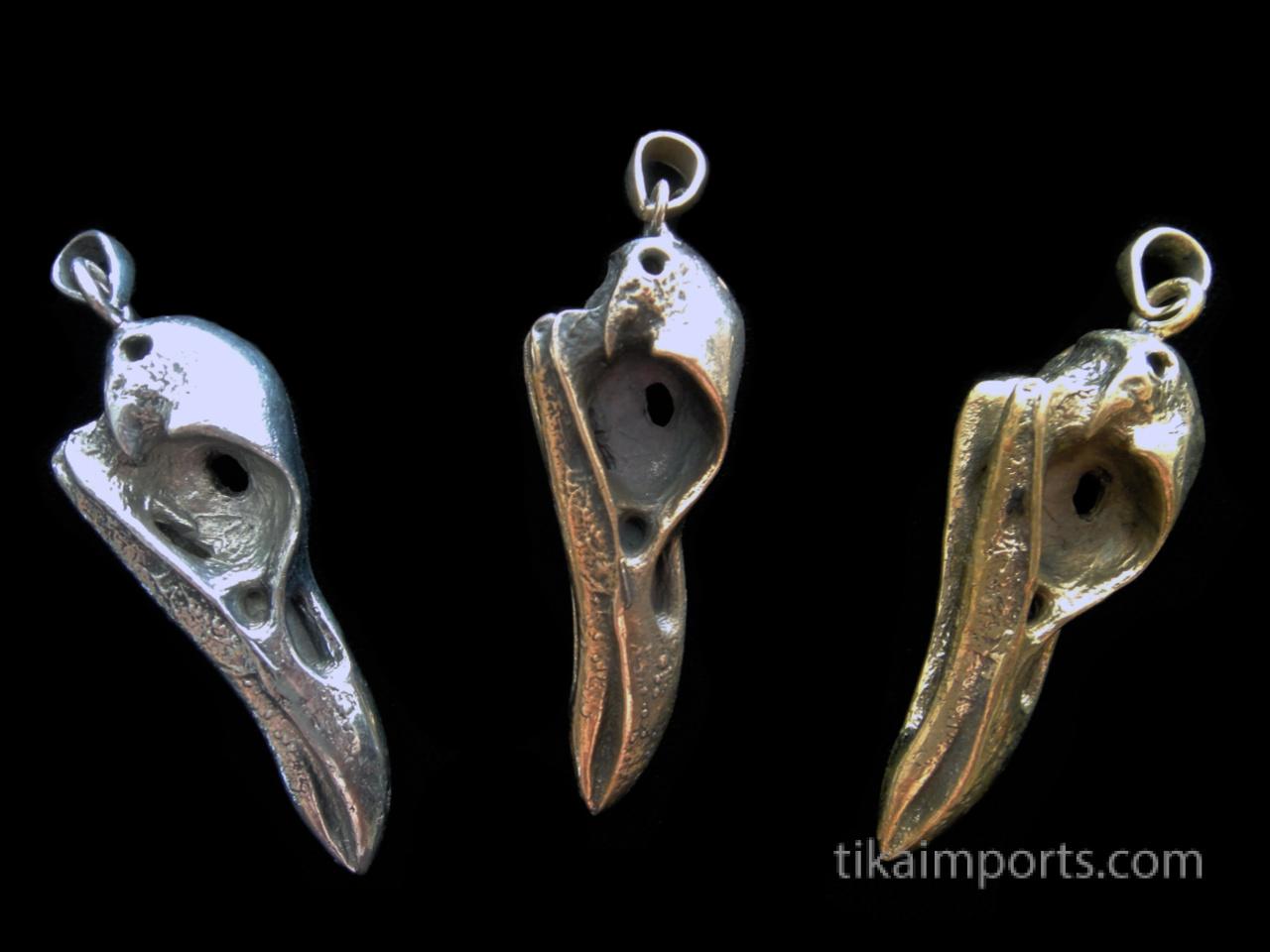 Bird Skull Pendants