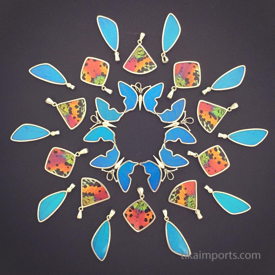 shimmerwing pendant mandala